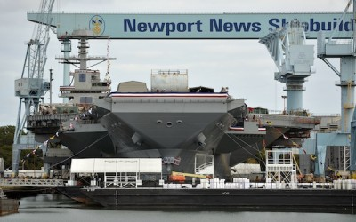 Navy League of Hampton Roads commits to enhance amenities aboard CVN 78