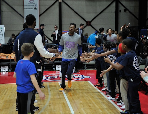 Foundation Sponsored Grand Rapids Drive Basketball Game