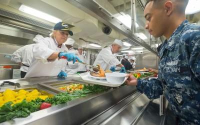 USS Gerald R. Ford (CVN 78) celebrates new milestone as Crew Move Aboard