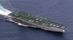 Electrical and fiber optic cables fully installed aboard USS Gerald R. Ford (CVN 78)