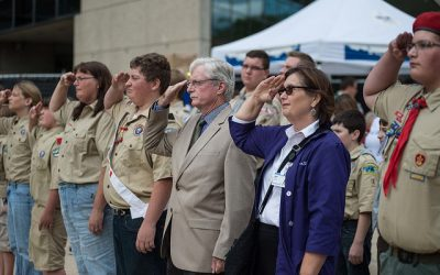Event information for the September 11th Community Day of Remembrance / Scout Salute