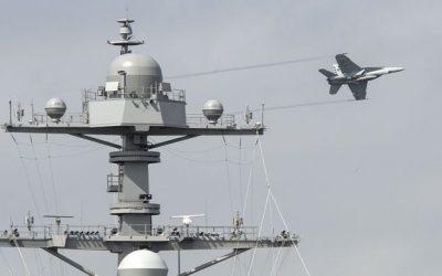 CVN 78 Ship Sponsor provides update on successful testing of landing radar
