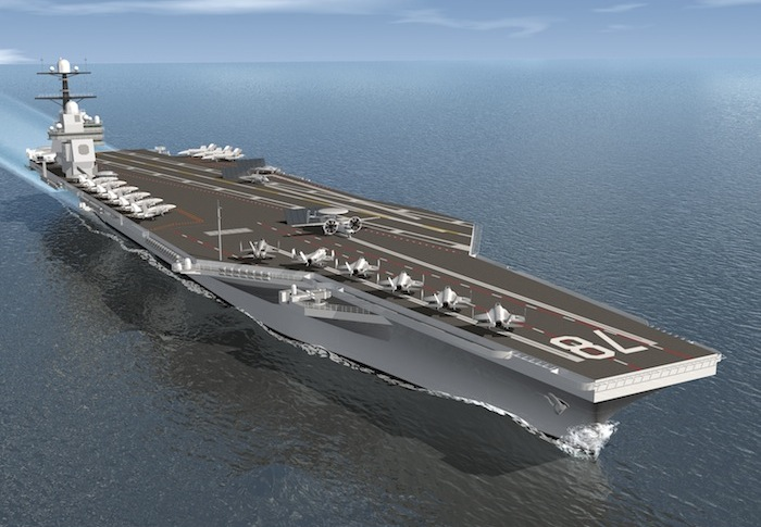 2013 : USS Gerald R. Ford Christened