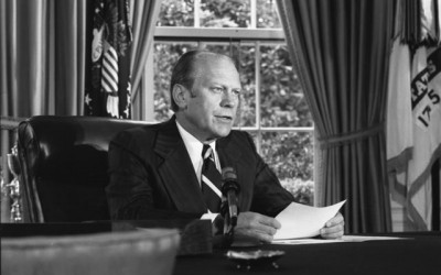 Remarks on Signing Proclamation Granting Pardon to Richard Nixon