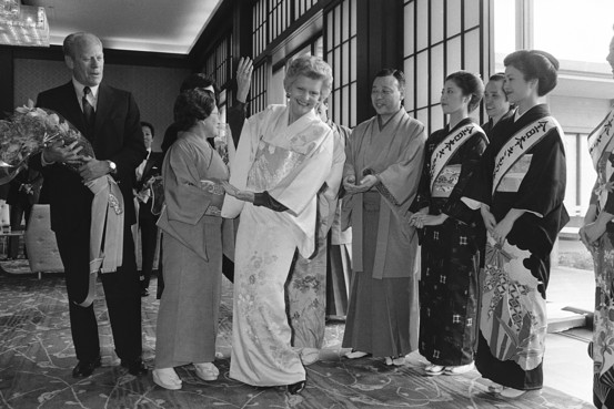 Obama And Wall Street >> Look back on visits to Japan by First Ladies - Gerald R. Ford Foundation