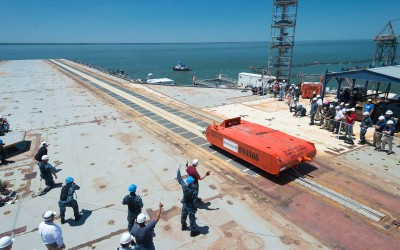 USS Gerald R. Ford EMALS Catapult Tests
