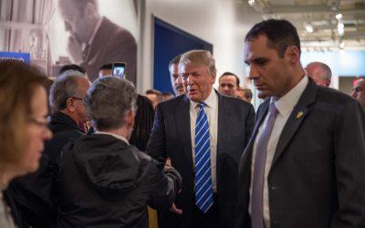 Donald Trump and Rudy Giuliani Museum Visit