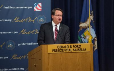 "U.S. Senator Gary Peters ""Space: A Journey to Our Future"" exhibit opening remarks"