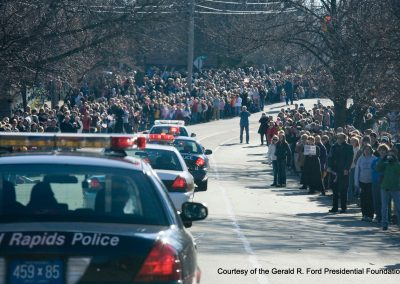 Ford Funeral Procession