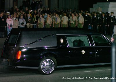 Former President Gerald Ford Funeral