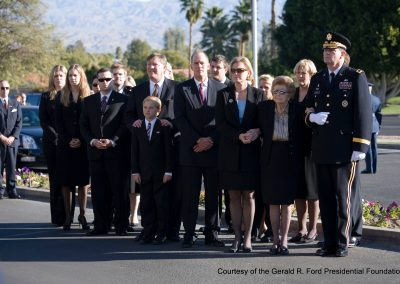 President Ford's Casket In California
