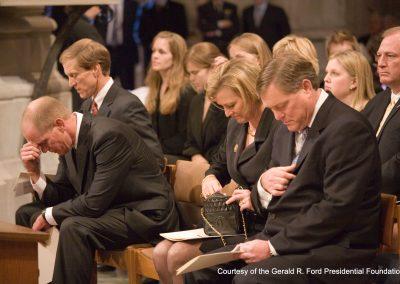 President Ford's Washington Services