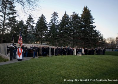 President Ford Is Buried