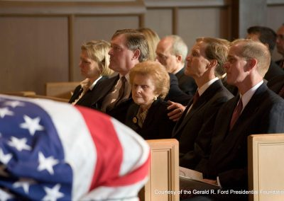 Grace Church Funeral For President Ford