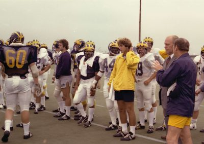 Atending-University-of-Michigan-Football-Practice