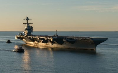 USS Gerald R. Ford (CVN 78) successfully completes the builder's sea trials