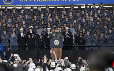Official remarks by President Trump Aboard the USS Gerald R. Ford