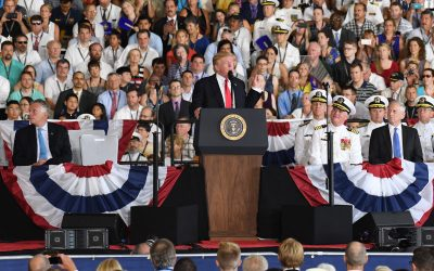 Remarks by President Trump at USS Gerald R. Ford Commissioning Ceremony