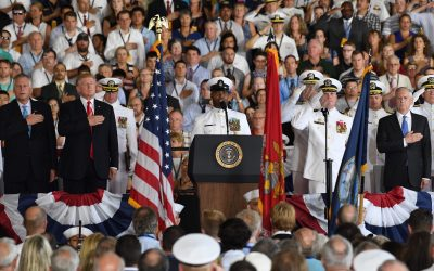 Singing of National Anthem at Commissioning
