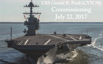 USS Gerald R. Ford Commissioning Ceremony streamed live at the Museum
