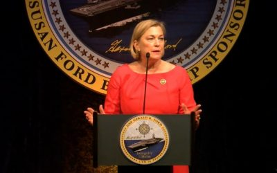 USS Gerald R. Ford (CVN 78) Ship Sponsor Luncheon