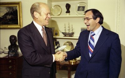 Frank and James Ursomarso reflect on President Ford's character, integrity