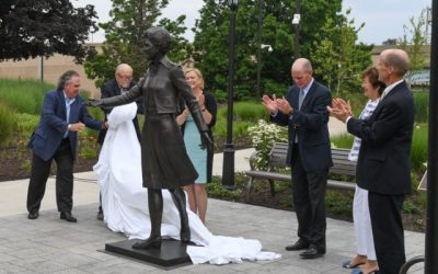 Mrs. Betty Ford Statue Unveiling at Museum