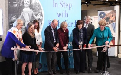 'In Step With Betty Ford' Exhibit Grand Opening
