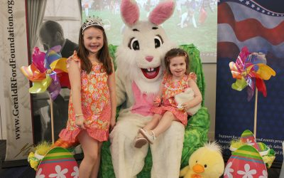 2nd Annual Historical Betty Ford Easter Egg-Stravaganza