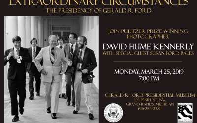 "David Hume Kennerly ""Extraordinary Circumstances"" March 25, 2019"