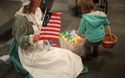 3rd Annual Historical Betty Ford Easter Egg-Stravaganza
