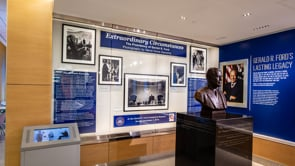 Gerald R. Ford Airport adds David Hume Kennerly Photos to President Ford Exhibit