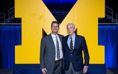 Michigan Football President Gerald R. Ford Lifetime Impact Award inaugural recipient is Tom Maentz