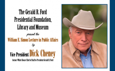 Vice President Dick Cheney 2020 Simon Lecture at Museum invite