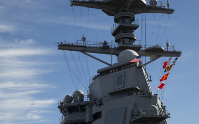 USS Gerald R. Ford's Program Manager highlights ship's weapons enhancements