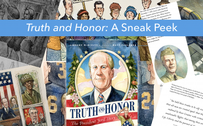 "Illustrator shares inspiration for new children's book ""Truth and Honor"""