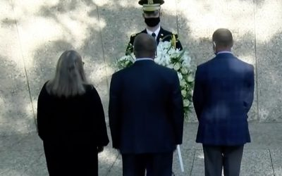 Annual Wreath Laying at the Tomb of Gerald R. Ford 2020